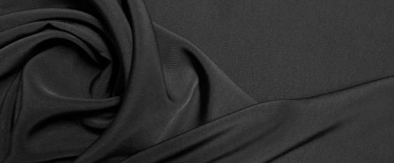 Kunstfaser - schwarz