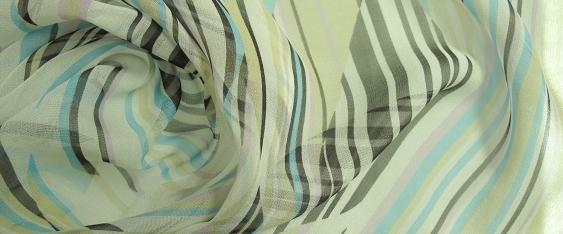 Chiffon - Streifendesign