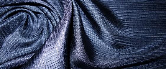 Seide - nachtblau