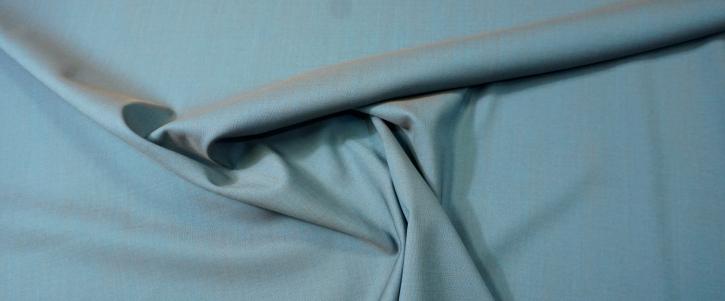 Schurwolle - blau/braun