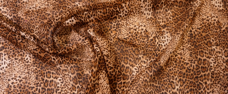 Schurwolle - animalprint