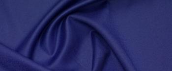 Schurwolle - königsblau
