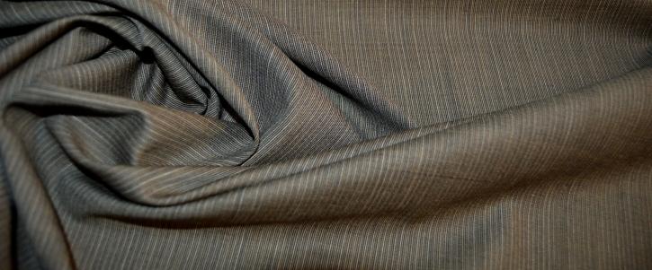 Schurwolle - oliv und grau