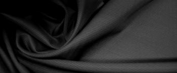 Schurwolle - schwarz mit grün