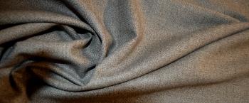 Schurwolle - grau und beige