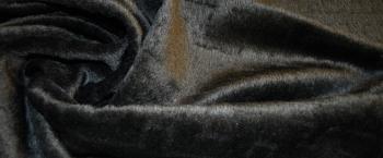 Fake Fur - schwarz