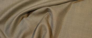 Schurwolle - grau mit grün