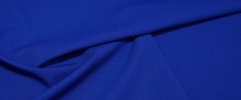 elastische Schurwolle - königsblau