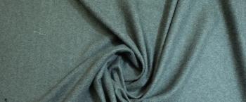 Schurwolle - grau