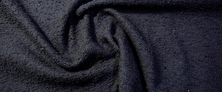 Schurwolle - schwarz