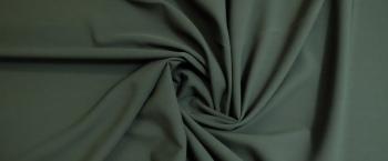 Schurwolle - grau/grün