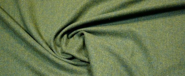 Tweed - grün meliert