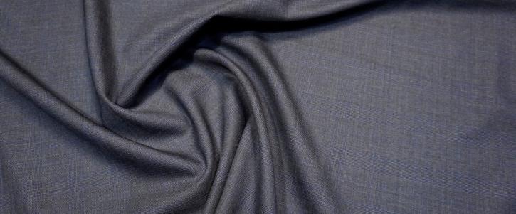 Rest, Schurwolle - schwarz/blau