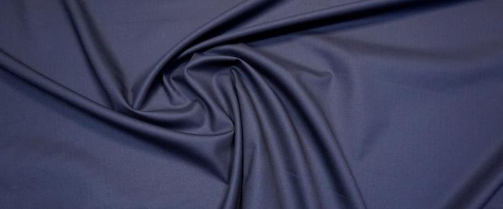 Schurwolle - dunkelblau, Super 120S