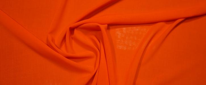 leichte Schurwolle - orange