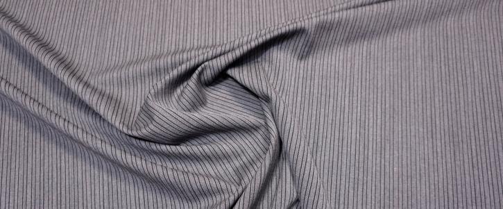 Rest Schurwolle - grau/schwarz