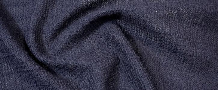 locker gestrickte Wolle - dunkelblau