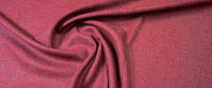 Tweed - bordeaux-rot