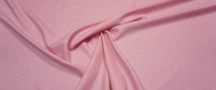 Schurwolle - rosa/weiß