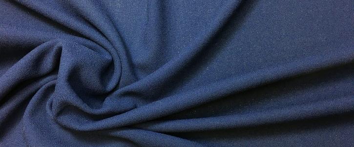 Wollcrepe - dunkelblau