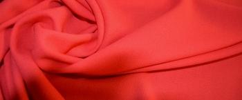 Woll-Crêpe - hummerfarben