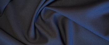 Georgette - dunkelblau
