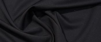 Double Face in leichter Stretchqualität - schwarz