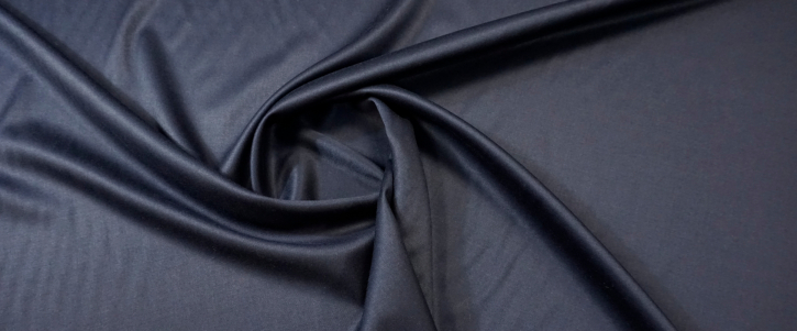 Double Face in leichter Stretchqualität - dunkelblau