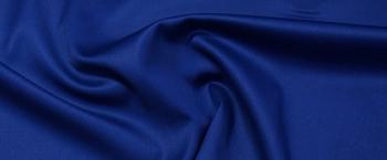 Double Face in leichter Stretchqualität - königsblau