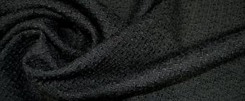 Bouclé - schwarz