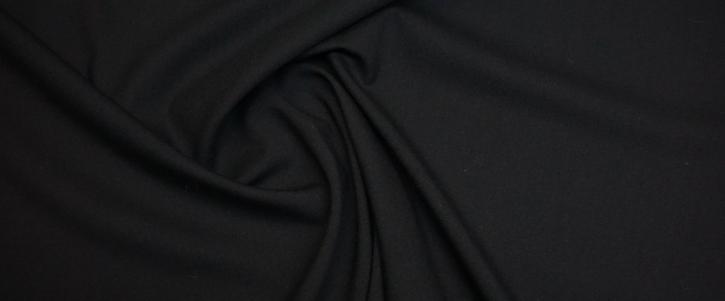 Rest Schurwollstretch - schwarz