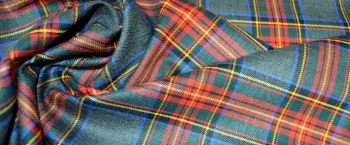 Tartan in Stretchqualität