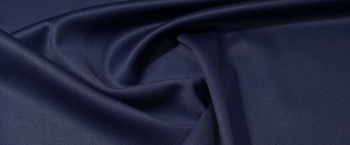 Rest Satin-Stretch - ultramarinblau