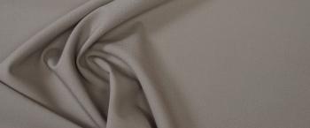 elastische Schurwolle - mittelbeige