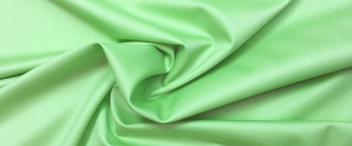 Schurwollsatin - hellgrün