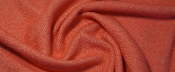 Schurwollmix - rosa mit weiß