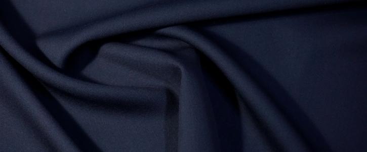 Schurwollstretch - schwarzblau