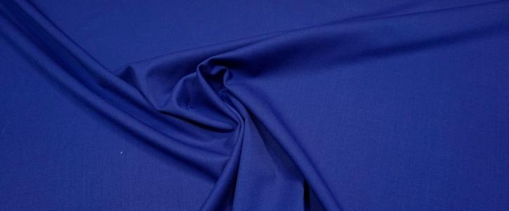 Schurwollstretch - königsblau