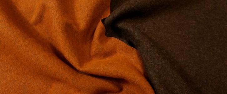 Double Face Jersey - karamell/braun