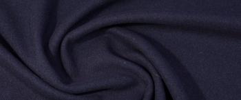 Schurwolle mit Angora - nachtblau