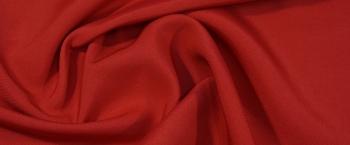 Schurwolle mit Seide - rot