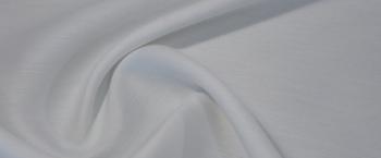 Rest, Schurwolle mit Seide - weiß
