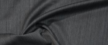 Schurwolle mit Seide - steingrau