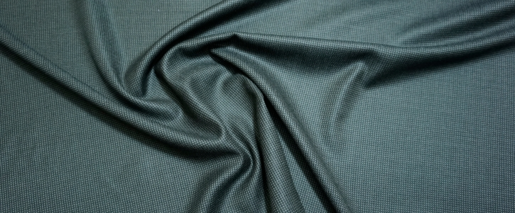 Schurwolle mit Kaschmir - schwarz/braun
