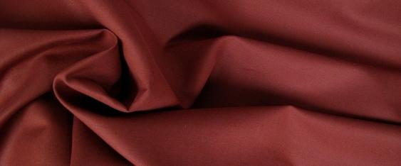 Leinenmischung mit Baumwolle, rostfarben
