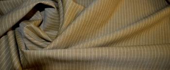 Schurwollmischung - Nadelstreifen
