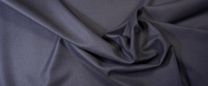 Schurwolle - winddicht, dunkelblau