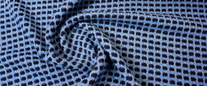 Strick - Blautöne