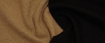 DoubleFaceJersey - schwarz/beige