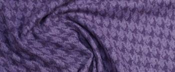 Schurwollmischung - lila